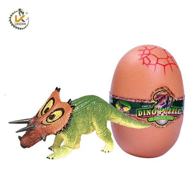 Juguetes Rompecabezas Ensamblados En 3d Huevos Coloridos Dinosaurio Bloques De Construcción Buy Juguetes De Huevo De Dinosaurio,Bloques De