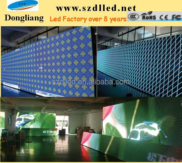 Factory Price Low Price High Quality P10 dip advertising outdoor full color led display