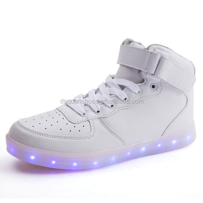 5300b27556 2016 Caliente Zapatos De Los Hombres Zapatos Tenis Masculino Moda Masculina  Primavera Otoño Zapatos De Cuero Para Hombres Calzado De Alta Top Zapatos  De ...