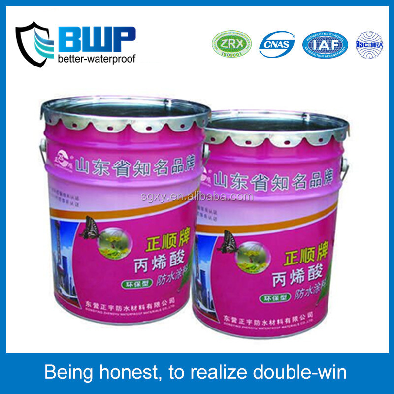 waterproof material manufacturer Cementitious capillary crystalline waterproofing coating/paint