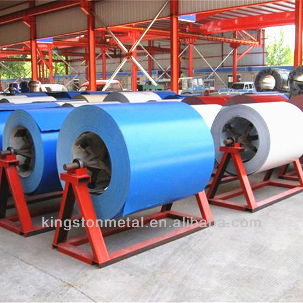 Cold rolled Color coated galvanized aluzinc steel coil with high quality