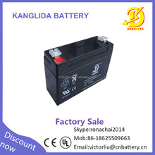 Wholesale 6v 4ah rechargeable sealed lead acid battery supplier in ...