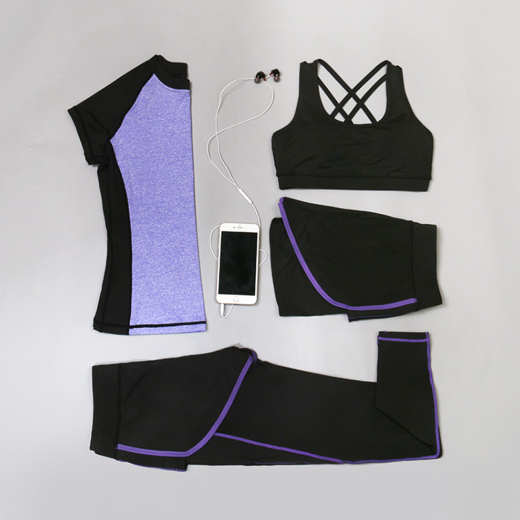 Sell Well Elastic Plus Size Activewear, Custom Logo Fitness Wear Set, Activewear Women