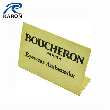 Cheap Wholesale Personalized Desk Name Plate In Iron - Buy