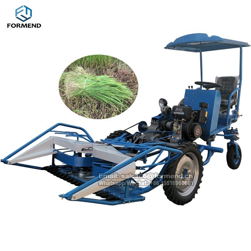 4gk90 New Model Reaper Binder Machine Mini Harvester Price