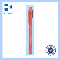red cute waterproof UV invisible ink ball pen