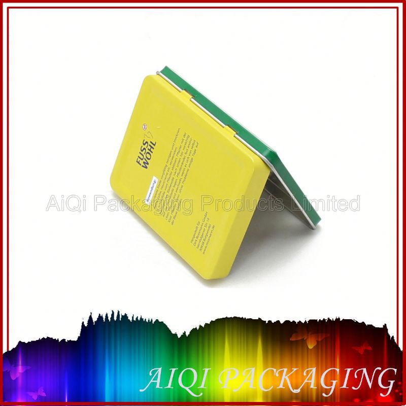Factory price small metal cigarette tin box/promotion tin can