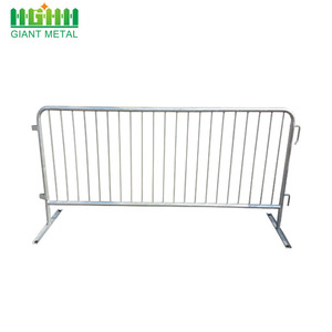 Hot sale road safety metal pedestrian used crowd control barrier for sale