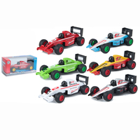 Wholesale kids pull back scale car Die cast formula car toy