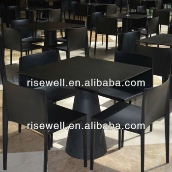 compact phenolic resin chairs and tables