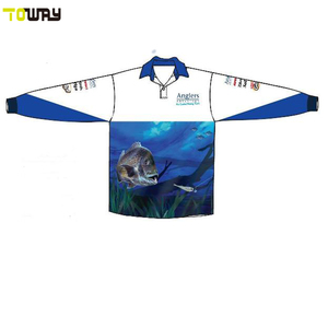 bass blank tournament fishing jerseys