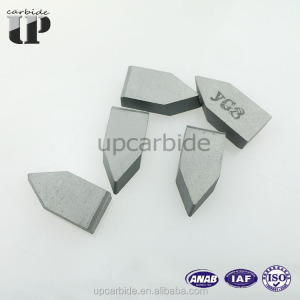 suply YG6 C122/C110/C116/C120/C122/C125 tungsten carbide C type brazed insert