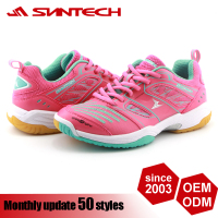 New cheap price BSCI wholesale badminton shoes