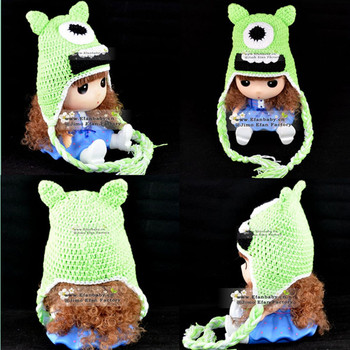 Venta Caliente Tejido A Mano Animales Invierno Monstruo Crochet ...