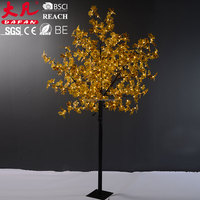 Hot sale christmas lights outdoor decotaion lights chinese maple bonsai tree for sale