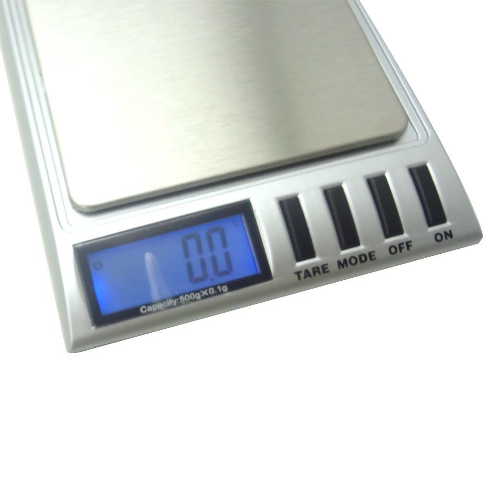 500g 0.01g Digital Pocket Scale Precision Scale for Gold Jewelry Reload Coins