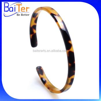 Fashion Jewelry Custom Whole Tortoise Cuff Bracelet S Bangle
