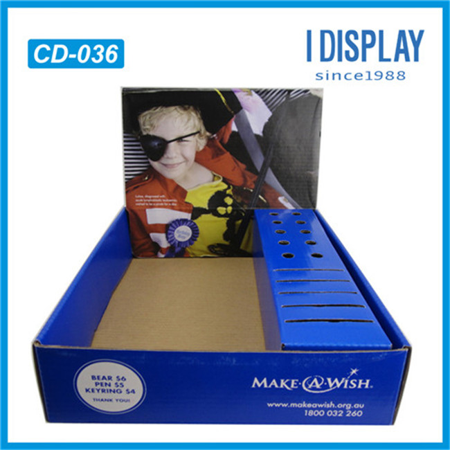 china supplier recycled POP/POS Cardboard display boxes
