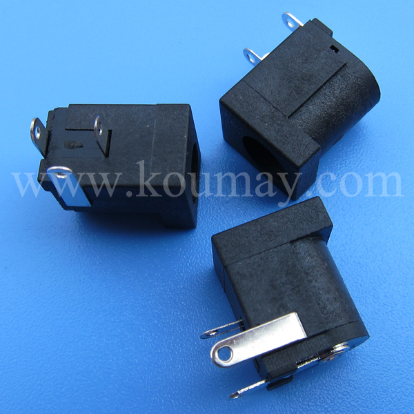 3 pin Through Hole DC Female Power Socket DS-012