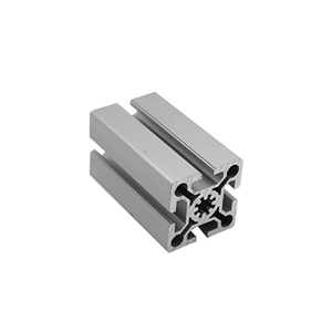 Silver Big Size 8080 Modular Assembly System Manufacturer From China Aluminum 4545 Cheap Aluminium Sample Product Profile