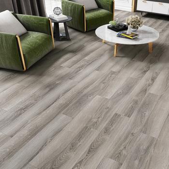 Scratch Resistant Silver Grey Engineered Oak Wood Flooring Parkett