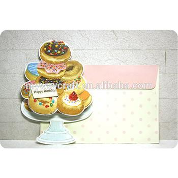 Donut En Forma De Tarjetas De Invitación De Cumpleaños Para Niños Buy Tarjetas De Invitación De Cumpleaños Para Niños Tarjetas De Invitación De