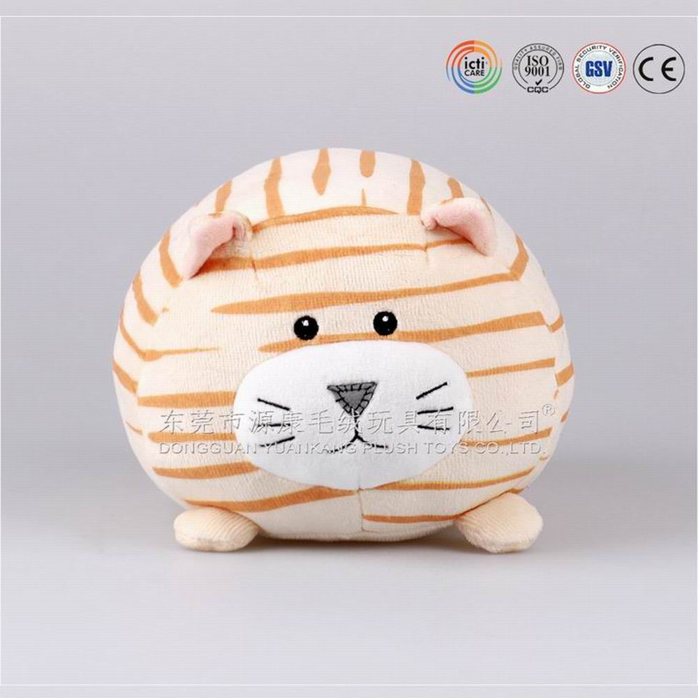 17cm ODM product Q version plush <strong>animal</strong> series soft stuffed cute fat cat toy