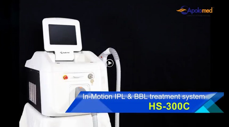 portable personal  IPL laser hair removal from home
