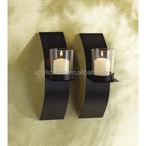 Modern Art Candle Holder/Candlestick/ Wall Sconce Plaque For home Decoration