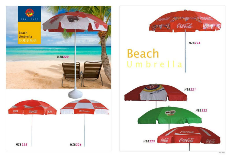 Lays Promotional Beach Umbrella With Standard Size