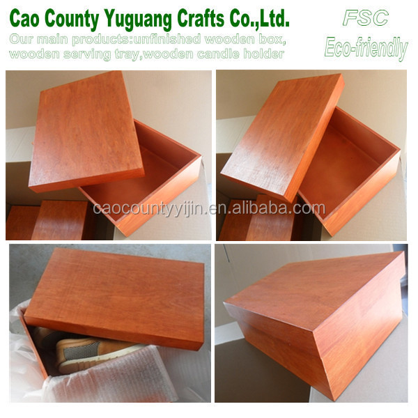 shoes wooden box,shoes packaging boxes,packaging box for shoes