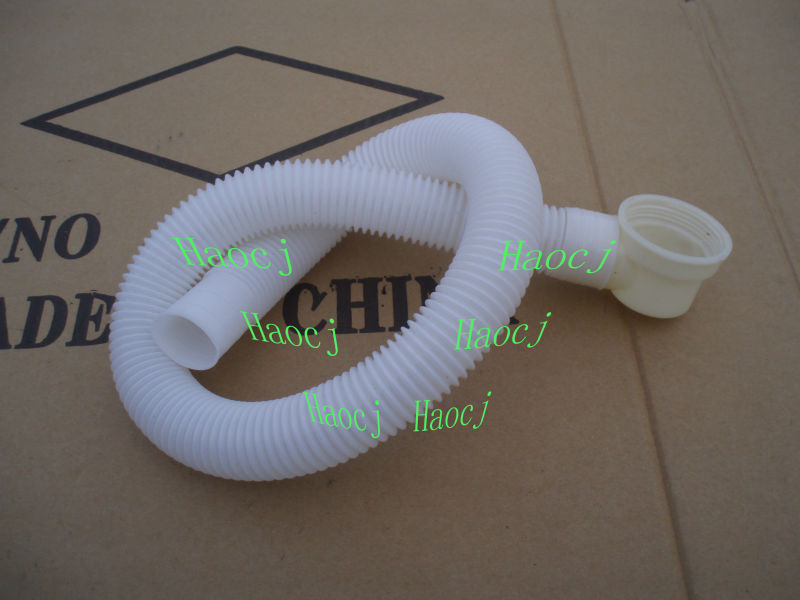Bathtub drain cleaning flexible pipe bathroom