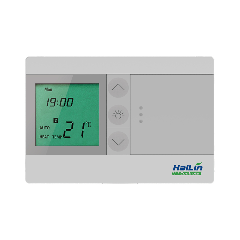 China manufacture 7 day programmable dry contact room heating boiler thermostat