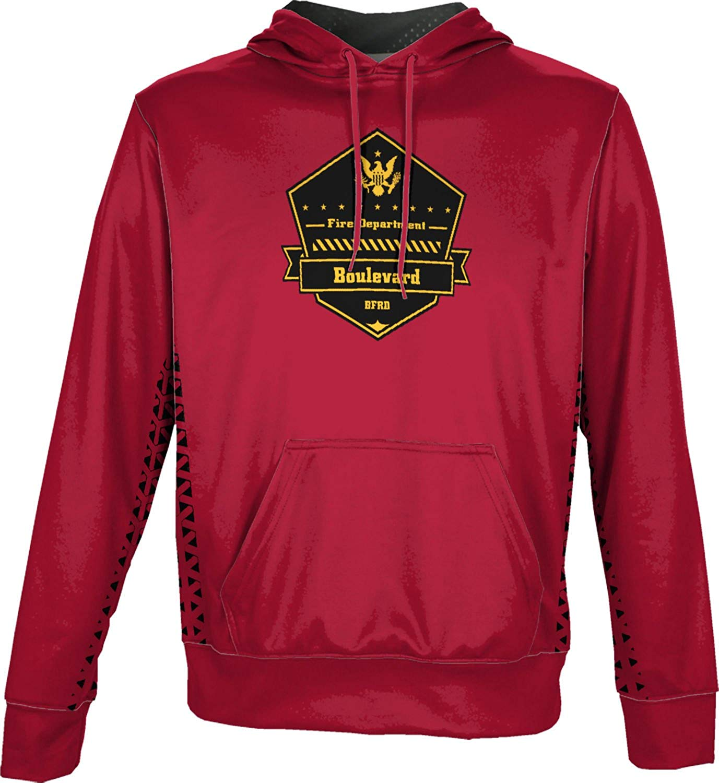 ProSphere Boys' Boulevard Fire and Rescue Department Fire Department Geometric Hoodie Sweatshirt