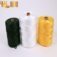 white/yellow/black UV-protection pp baler twine for agriculture