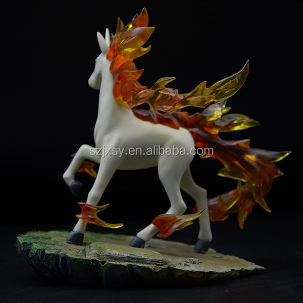 Good Quality Cartoon Character Soft Horse Statue Made In China