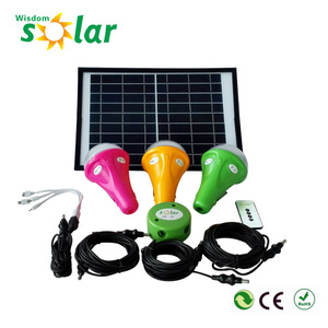 Handy LED bulbs solar home lighting kit with phone charger Chinese wholesale suppliers