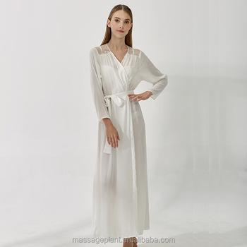 Sexy silk satin robes