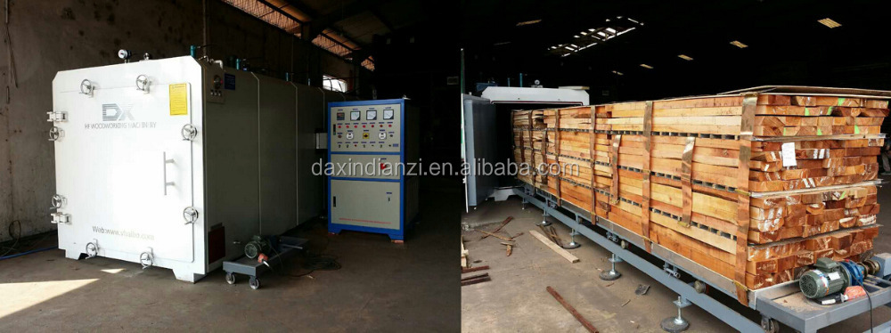 High frequency vacuum timber drying ovens for sale