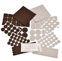 Variety Size Self Adhesive Pads Best felt Furniture Pads for Hardwood Floors & Laminate Flooring