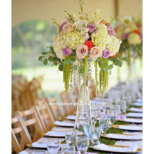 tall flower vases for weddings wholesale clear trumpet glass vase wedding centerpieces buy vase 7915