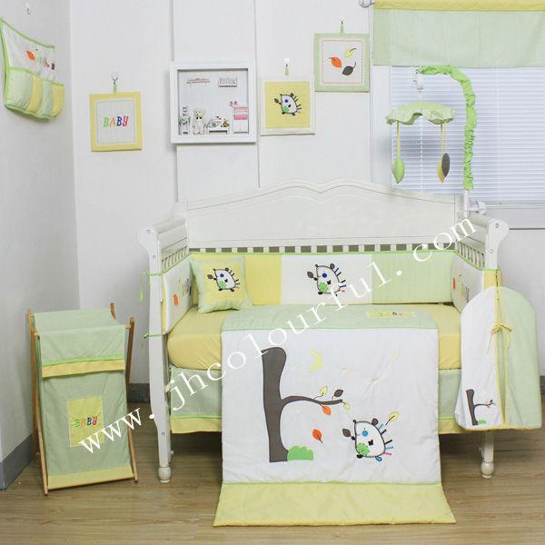 Spring Garden Baby Bedding Set
