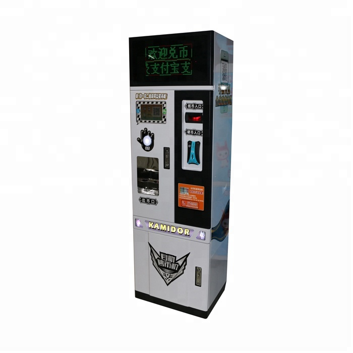 Muntautomaat bill uitwisseling arcade game token coin change machine, Munt Uitwisseling Machines