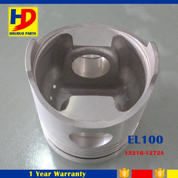 EL100 Engine Piston With Pin OEM 13216-1272A Standard Size