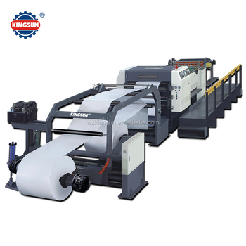 KS-B Series Servo Control Rotary Knife Paper Roll to Sheet Cutting Machine
