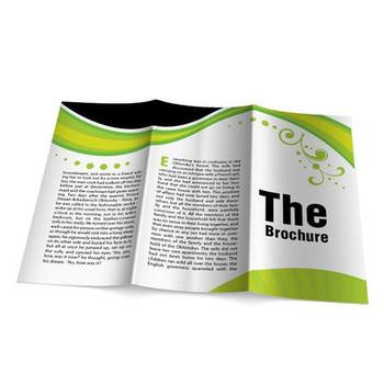プリントデザインのパンフレットa5冊子印刷化粧品 buy 化粧品の