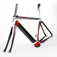 Best selling Road Racing Light Weight Carbon Bicycle Frame 2017