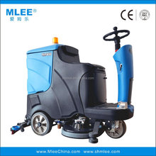 MLEE 850BT Robot road sweeper Electric Ride-on battery dry floor cleaner
