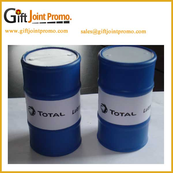 Promotional Oil Barrel Can Anti-Stress Ball