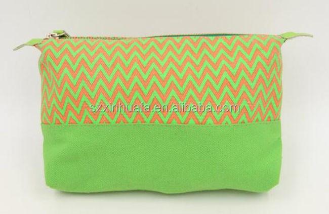 Wholesale Cotton Canvas Cosmetic Bag Make Up Bag